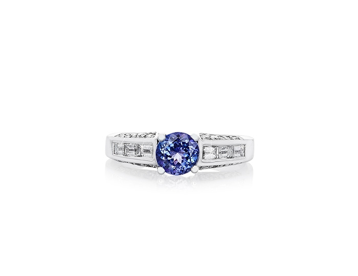 AAA Tanzanite  and diamond